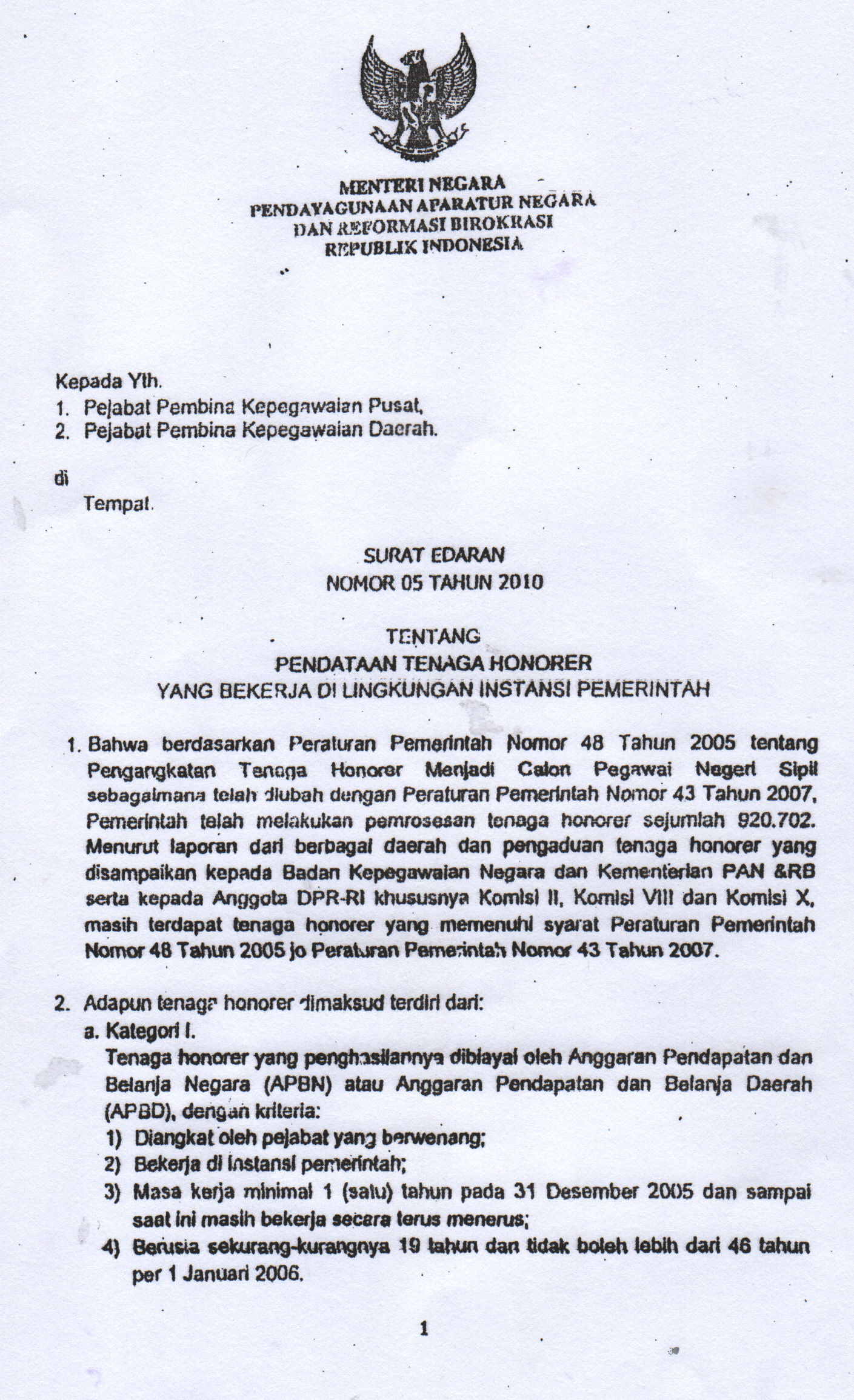 Info Cpns Honorer K2 Tahun 2013 Terbaru Agustus 2014 Share The Knownledge